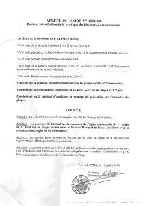 thumbnail of Arrêté Permanent n°2014 100 Kitesurf