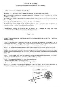 thumbnail of Arrêté 192 Chemin de la Fouche