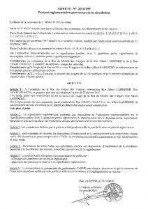 thumbnail of Arrêté 195 Ru e du Moulin des Trappes, Rue Albert Lassourd, Rue Charlemagne
