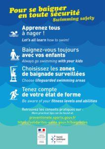 thumbnail of Affiche Pour se baigner en sécurité_