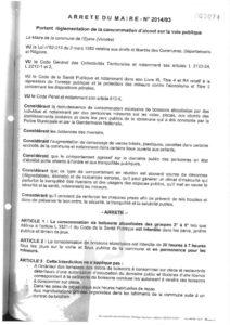 thumbnail of Arrêté n° 2014 93