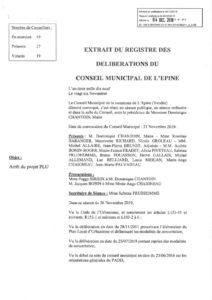 thumbnail of Arrêt du projet PLU