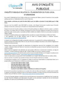 thumbnail of Avis d'enquête publique 2020 20 07 au 21 08
