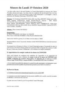 thumbnail of Conseil Municipal 19-10-20-signé