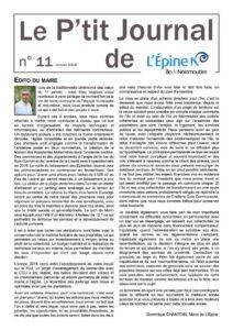 thumbnail of Le P'tit Journal n°11 V2