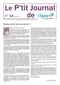 thumbnail of Le P'tit Journal n°14 V2