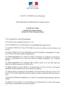 thumbnail of AP 20210212 – réglementation exceptionnelle de la circulation routière-1