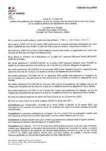 thumbnail of Arrêté port du masque obligatoire 08 03 2021