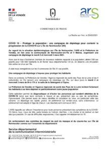 thumbnail of CP COVID 19 – Campagne de dépistage Noirmoutier (25-02-2021)
