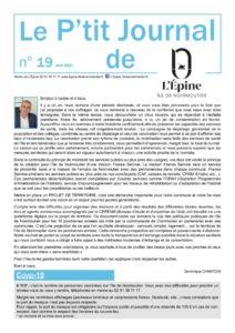 thumbnail of Le P'tit Journal n°19 V4