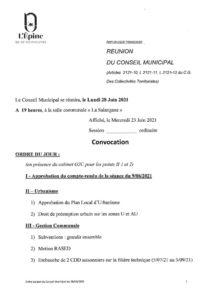 thumbnail of Réunion conseil municipal 28 06